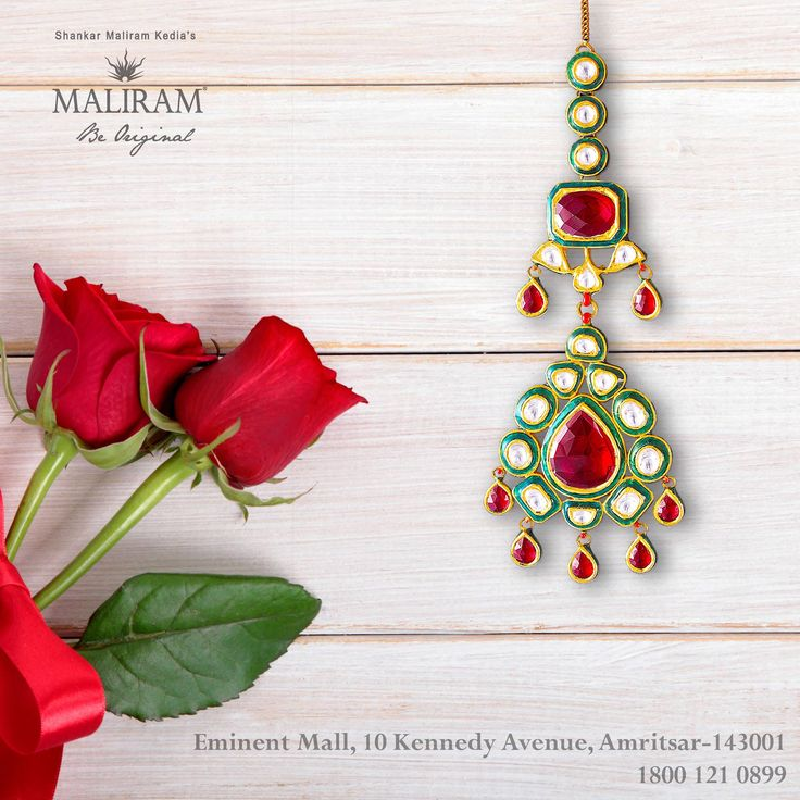 With festivities round the corner, make this traditional piece of authenticity, from Maliram Jewellers, a part of your celebrations.   #MaliramJewellers #Kundan #Jewel #TraditionalJewellery #Celebration #Festival #Punjab #Amritsar