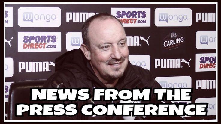 News from Rafa Benitez's press conference | Pre-Sheffield Wednesday