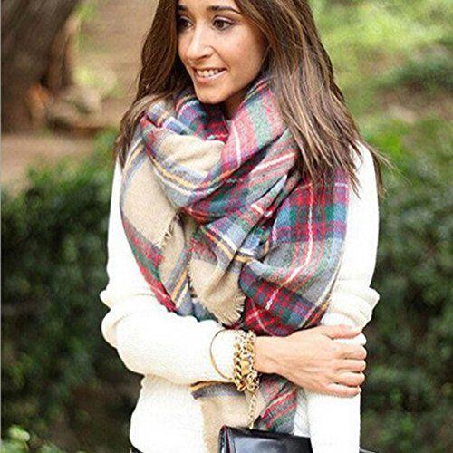 Ularmo® Abrigo de la bufanda del mantón de la tela escocesa de Cozy Chequeado Mujeres Señora Manta Tartán de gran tamaño Ularmo® http://www.amazon.es/dp/B016WABJE2/ref=cm_sw_r_pi_dp_ABGowb1GVFNSX
