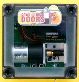 Automatic Chicken House Door Opener And Closer Dawn Till
