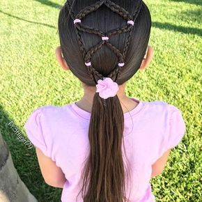 """✨""""Only when we are brave enough to explore the darkness will we discover the infinite power of our light.""""✨ . Elastic micro braids into a low ponytail from a few days ago. ✨✨ . Wishing you all a a beautiful day! . #pr3ttyhairstyles #braids #braided #braidstyles #braidsforlittlegirls #braidideas #braidinspo #abc7eyewitness #cghphotofeature #microbraids #ponytail #hairstyle #hairinspo #hairideas #hairoftheday #peinado #peinadosparaniñas #penteado #trenzas #tranças #trenzado #tangledandtrue..."""