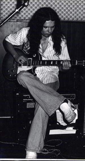 """Gary Rossington. Oh my, I wore shoes """"back then,"""" just like the ones that he is wearing!"""