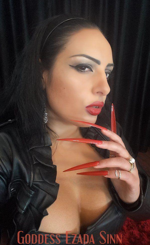 long fingernails mistress