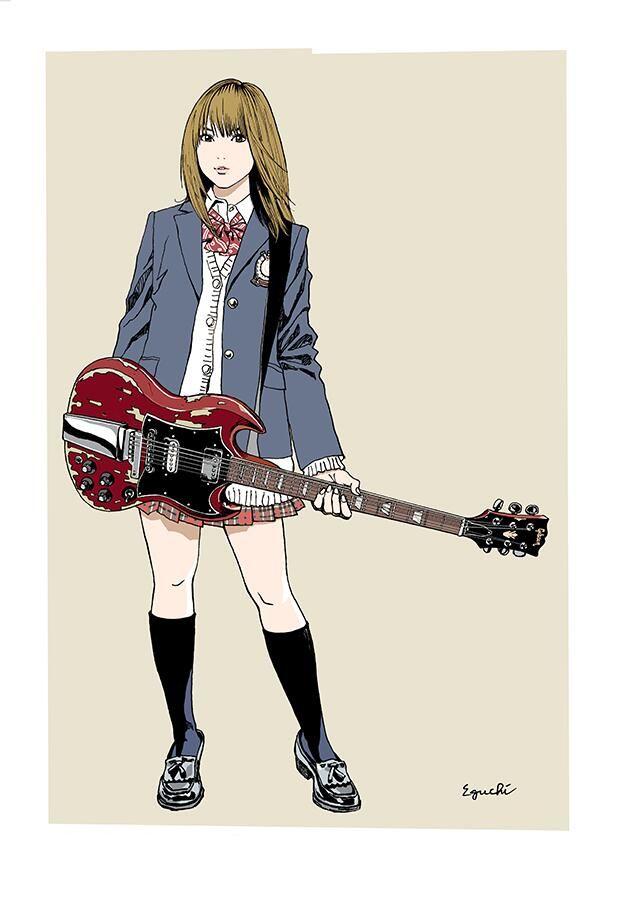 こちらも予約開始しました。 RT @kurosyacho 江口寿史さんの新作版画「SG」の画像はこちら。 http://webfreestyle.com/shop/pop-art-top.html … … pic.twitter.com/dyOZB3IXlM
