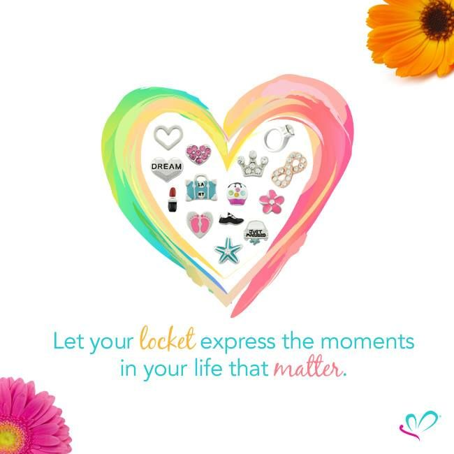{Happy Friday!} Let your locket express the moments in your life that matter. www.lilyannedesigns.com.au #LilyAnneDesigns #PersonalisedLockets