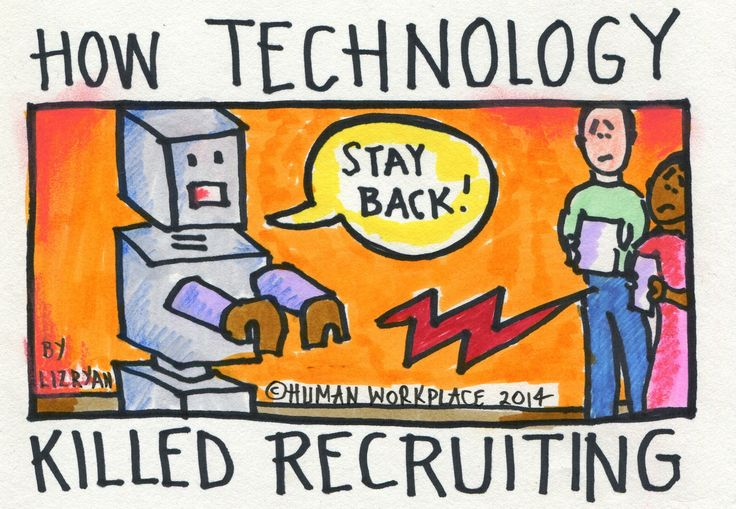 http://www.forbes.com/sites/lizryan/2014/01/29/how-technology-killed-recruiting/ - This is a new way of thinking about recruiting. It was surprising to see how that recruiting has not changed much in the last decades.- 9162