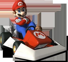 MarioKart Wii - Parallax