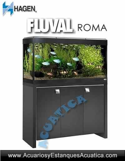 ** ENVIO GRATIS! 498.90€ **  Acuario HAGEN Fluval Roma 200: urna + mesa + filtro + calentador + iluminación + termometro. http://acuariosyestanquesacuatica.com/acuarios-de-agua-dulce/687-acuario-hagen-fluval-roma-200-acuario-mesa.html