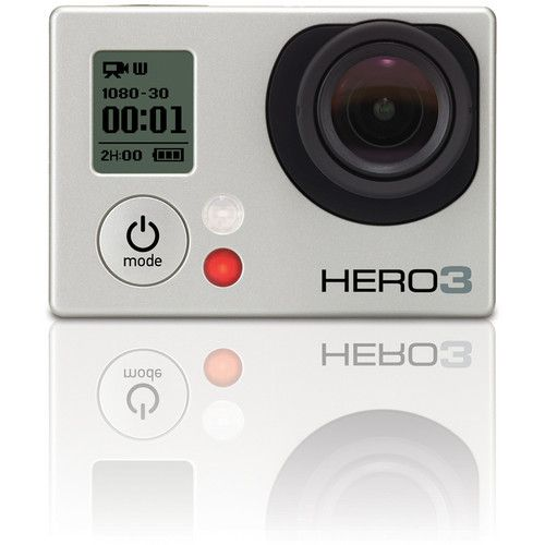 Electronic Bazaar NZ Offers Best GoPro HERO3: Silver Edition Camera