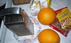 Pomerančové rohlíčky