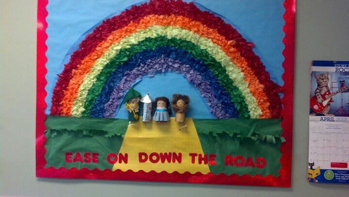 My End Of Year Bulletin Board Wizard Of Oz Theme The