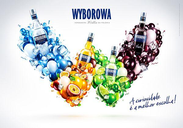 Wyborowa - Verdadeira Wódka da Polonia on Behance
