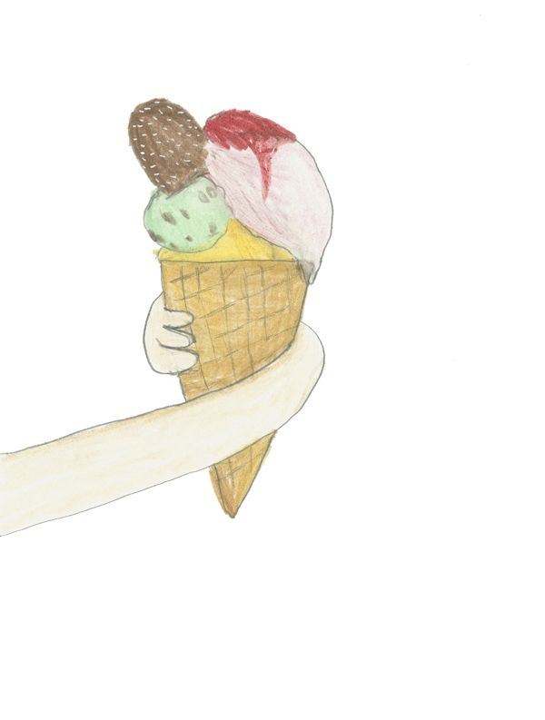 ice-cream by pernilleE.