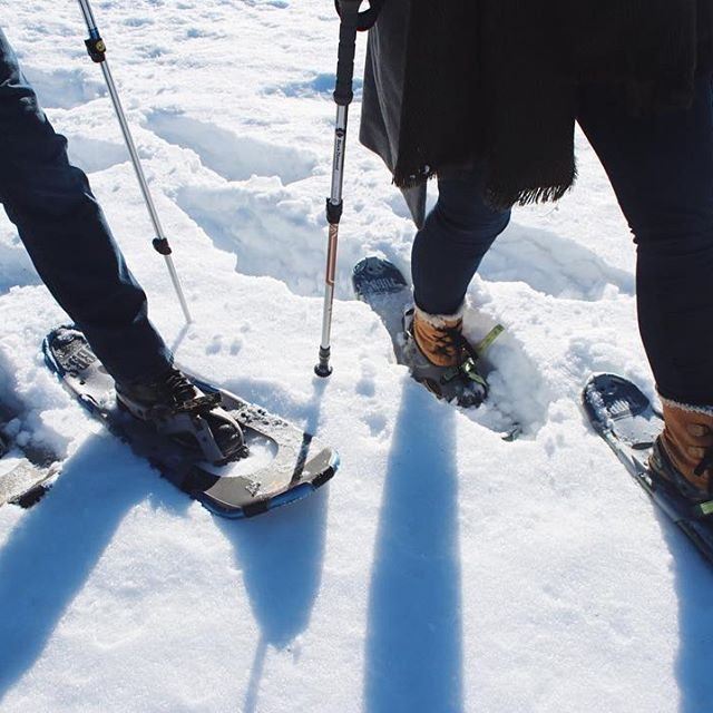 Stop by the estate for a snowshoe or skate! We know you can't wait. Pick up your mate and make it a date! Snowshoes and skates not included! BYOS! : @janetdaviephoto