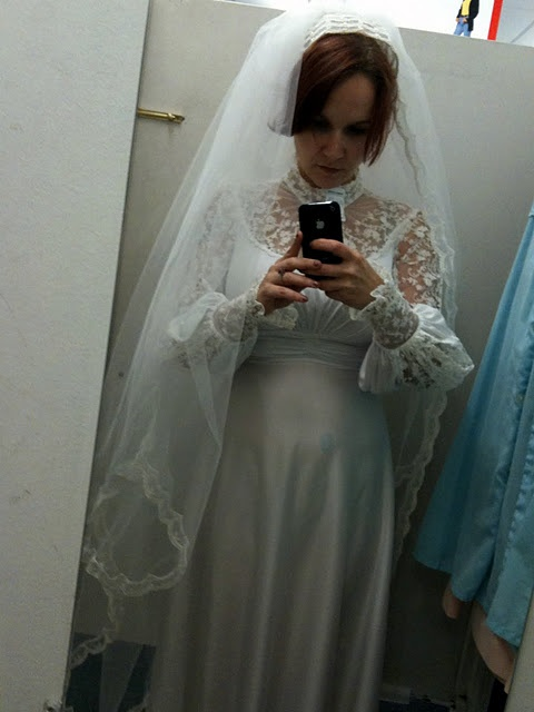 11 best flock of gowns images on pinterest homecoming for Thrift store wedding dress