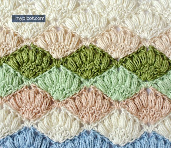 Crochet Stitches To Try : ... crochet stitches to try on Pinterest Shawl, Crochet shawl and