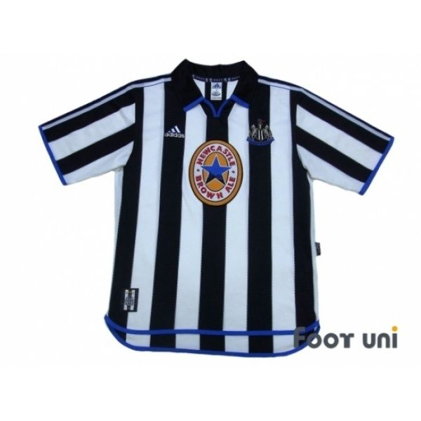 Photo1: Newcastle 1999-2000 Home Shirt #adidas - Football Shirts,Soccer Jerseys,Vintage Classic Retro - Online Store From Footuni Japan