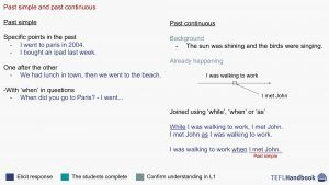 Past simple and past continuous   EFL – ESL activities and games