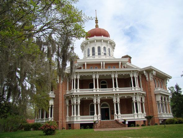 Longwood in natchez mississippi homes and architecture for Home builders in south ms