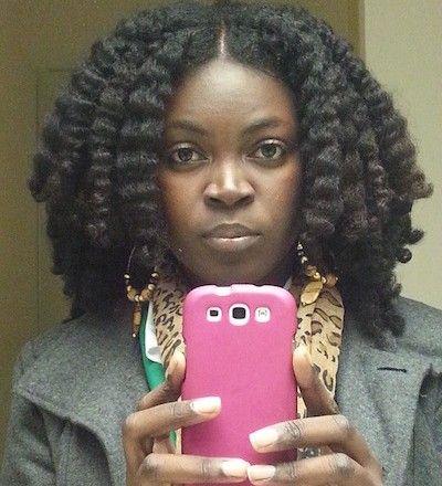 Tori // 4B/C Natural Hair Style Icon   Black Girl with Long Hair ^