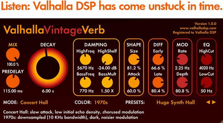 Valhalla Vintage Verb