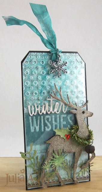 Create With Me: Tim's December 2014 Tag