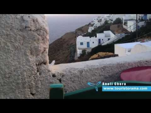 Anafi Chora Greece greek islands