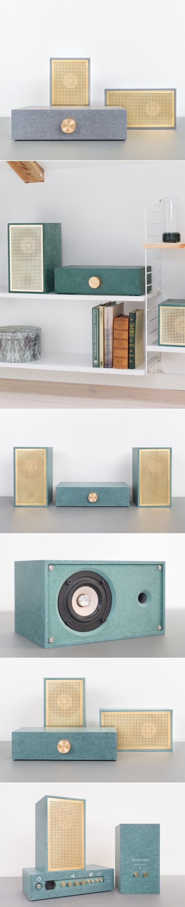 Stunningly Simple: Osloform Serpentine Stereo - Design Milk