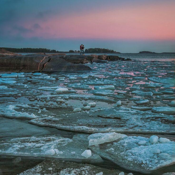 Drift ice - Beautiful drift ice in Hanko.