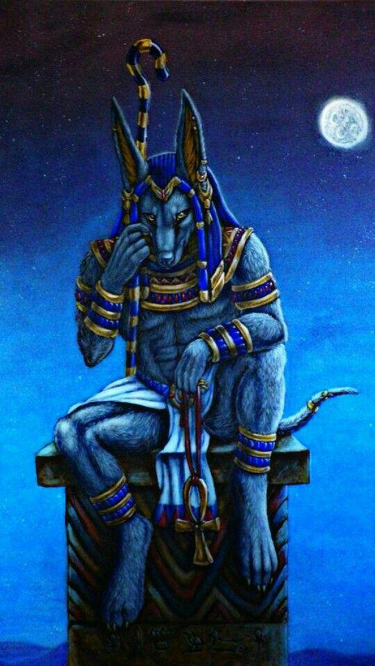 Anubis Egipto Anubis Dios Egipcio Tatuaje De Diosa