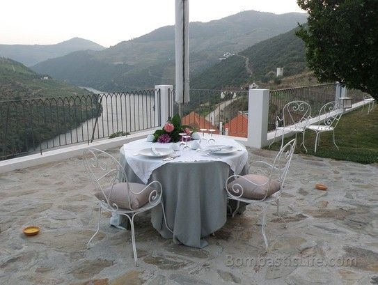 Private dinner at Quinta da Romaneira - Douro Valley, Portugal.