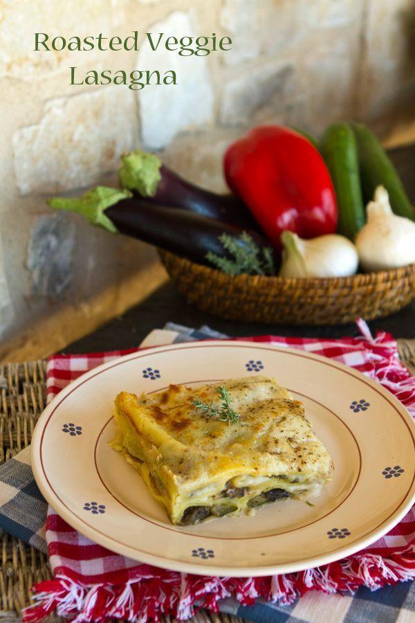 Italian Food Forever » Roasted Vegetable Lasagna