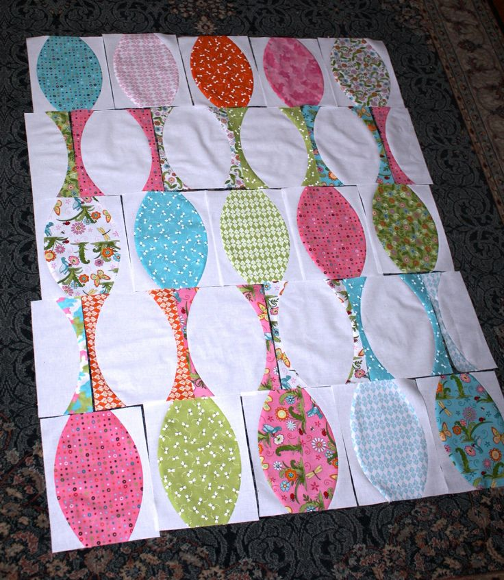 quick curve ruler quilts | One for a wish..: Quick Curve Ruler