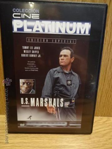 U.S. MARSHALS. TOMMY LEE JONES / WESLEY SNIPES. DVD CALIDAD LUJO