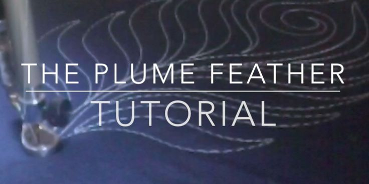Plume Feather Tutorial - video by Angela Waters