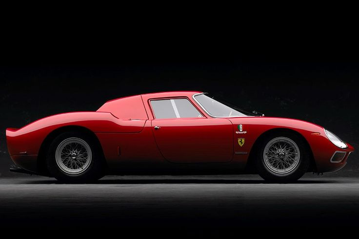 1964 Ferrari 250 LM   Low, sleek, and menacing, the Ferrari 250 LM is one of the most coveted and collectible Ferraris of all time. RM Auctions sold a similar model for $14.3 million last November.