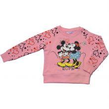 Bluza Minnie Mouse - roz/imprimeu
