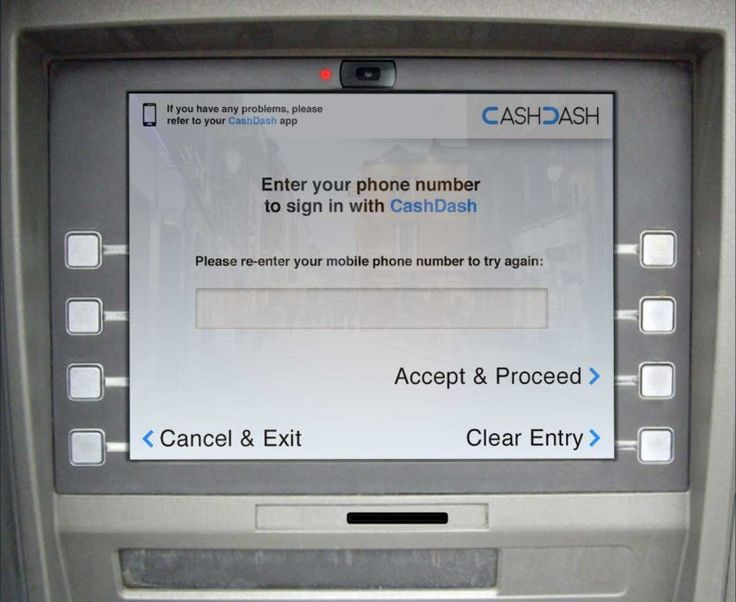 CashDash lets you withdraw cash from ATMs without a debit card