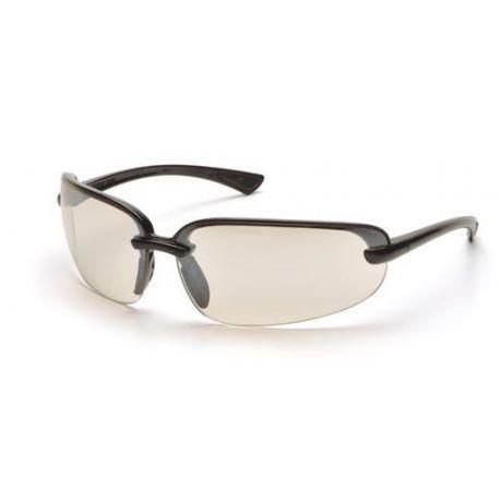 Pyramex Protocol SB 6280D, ochranné brýle, černá obruba, zrcadlové skla pro použití venku i v místnosti