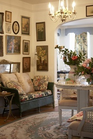 Living Rooms Shabby Chic English Cottages English Country Cottage