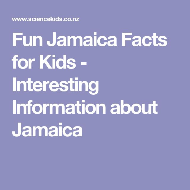 Fun Jamaica Facts for Kids - Interesting Information about Jamaica