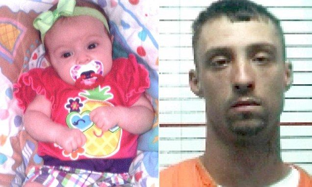 Brian Christopher Keith, 29, had just been released from prison for an arson conviction nine days before he allegedly murdered 4-week-old Nevaeh Keith. Authorities say Keith resented the baby because she was fathered by another man.