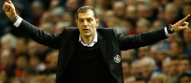 """""""Together we will achieve great things.""""   Slaven Bilic takes the reins at West Ham http://bbc.in/1MEfiRX #whufc"""