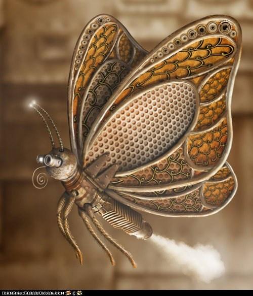Cute butterflySteampunk Fashion, Inspiration, Steampunk Stuff, Art, Steam Punk, Butterflies Animal, Steampunk Design, Steampunk Butterflies, Butterflies Beautiful