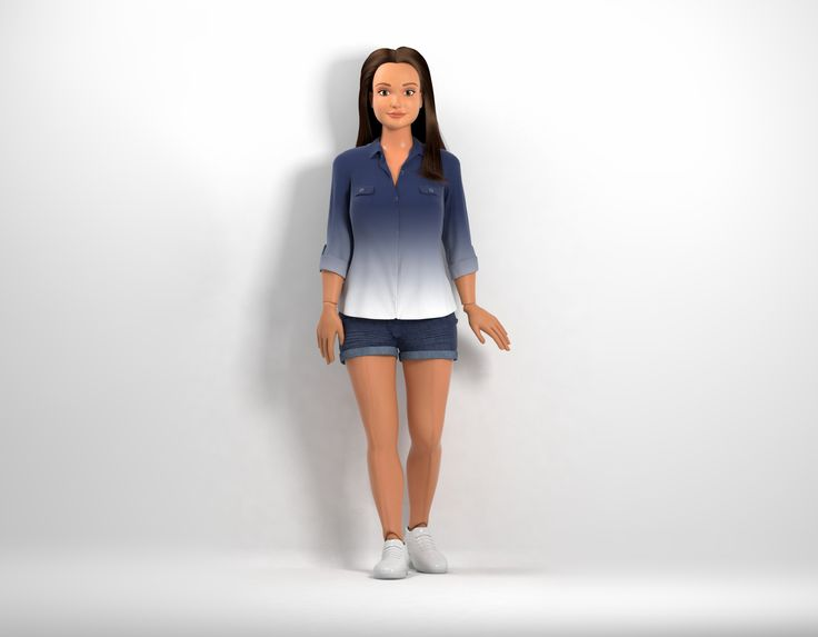 Barbie? Please. A New Doll For Kids Resembles Actual Humans. (Bonus: She Doesn't Walk On Her Toes.)