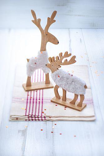 Décorations de Noël, rennes de Noël
