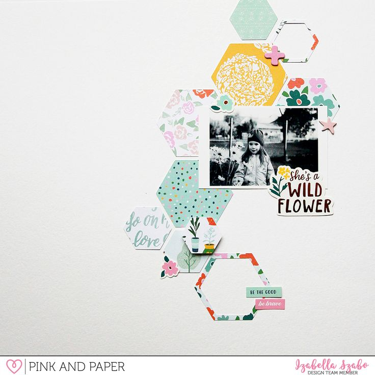 Pink and Paper Challenge#3 with Izabella Szabó - Pink and Paper Blog