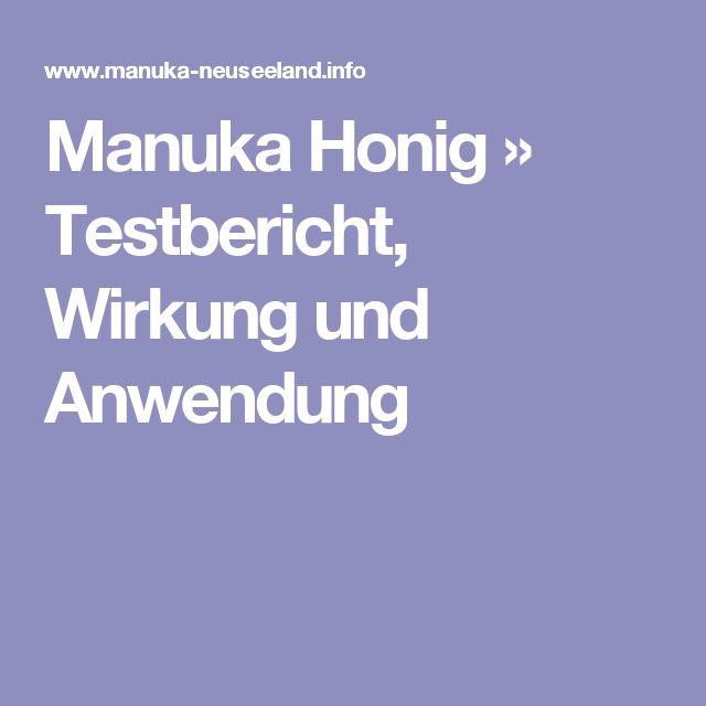 Manuka Honig » Testbericht, Wirkung und Anwendung