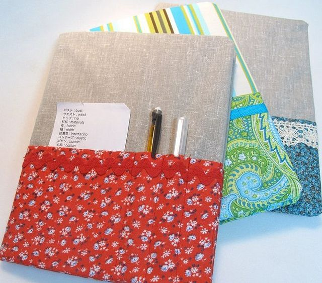 Book Cover Sewing Supplies ~ Best padfolio kindle cases notebook covers to sew