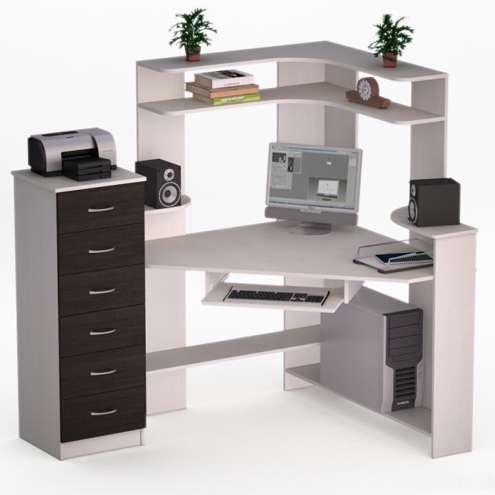 Угловой компьютерный стол Лекс-19